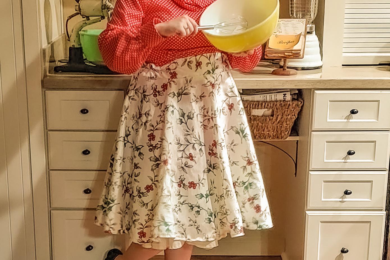 The Cutest, Easiest Vintage Circle Skirt