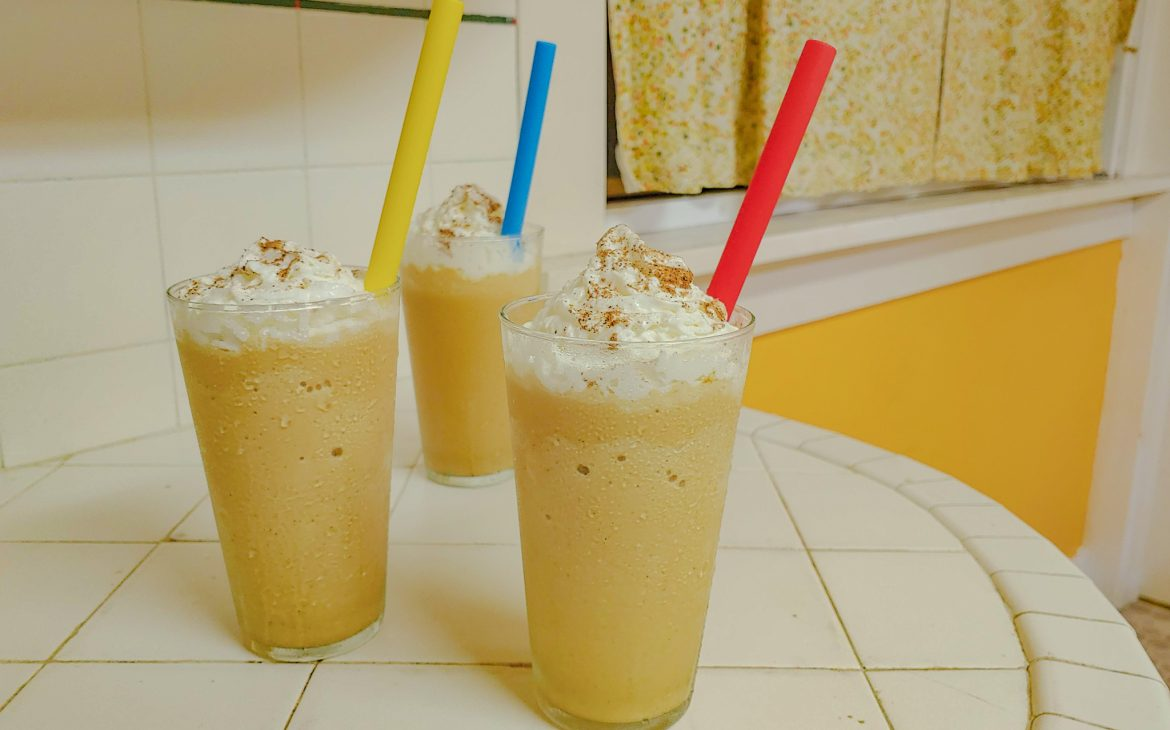 Molasses Milkshakes