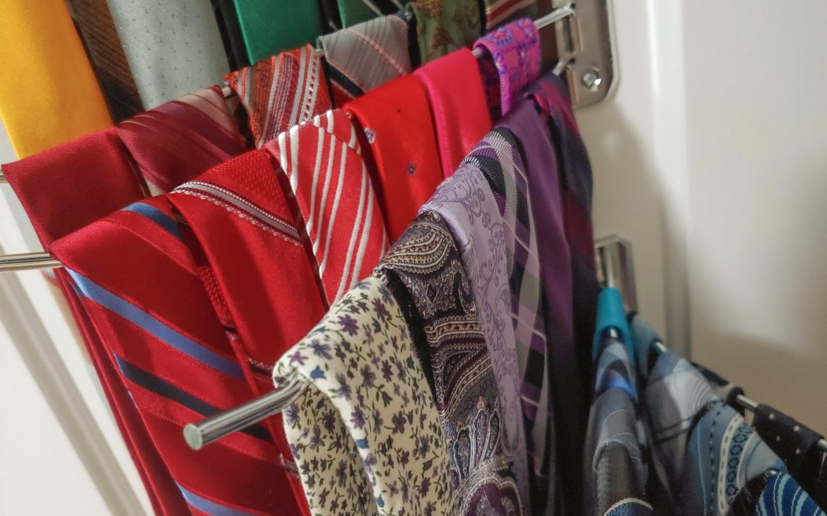 The Very Best Way to Organize Ties